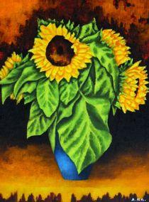 Sonnenblumen von Achim Knorr