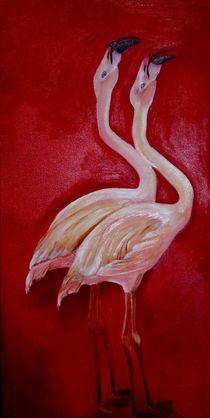 Flamingos von ERIKA FUSS