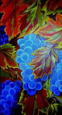 Weintrauben im Herbst by ERIKA FUSS