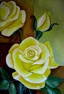 Gelbe Rosen by ERIKA FUSS