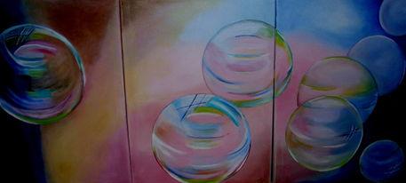 Seifenblasen malerei als poster und kunstdruck von erika for Seifenblasen auf englisch