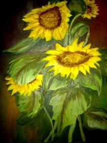Sonnenblumen von ERIKA FUSS
