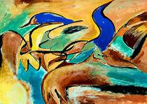 BLUE IDEA® - we share the world with birds 303 by Monika Nelting