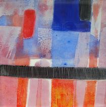 Das Blau und Rot by Ilona Metscher