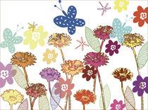 Blumenwiese von Ilona Metscher