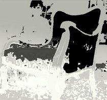 Sessel Guitarman 2 schwarz by Helmi Böttrich