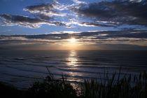Frankreich - Sonnenuntergang an Atlantikküste von Frank Seidel