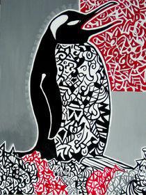 Singender Pinguin von Elena Beresnjak