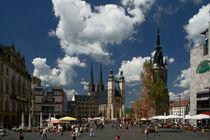 Marktplatz - Halle an der Saale von Sven Dressler