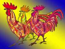 Chicken Clan by Norbert Hergl
