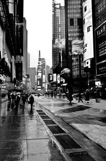 Times Square nach dem Regen by Frank Walker