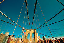 Brooklyn Bridge von Frank Walker