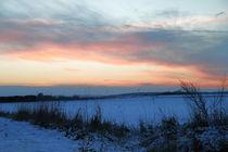 Winterliche Abend von artpic