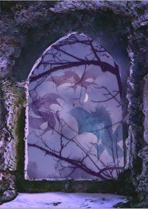 nächtliche Drachenspiele by Wolfgang Schwerdt