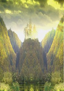 Gonfirs Burg by Wolfgang Schwerdt