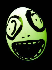 Green Skull Egg by marple