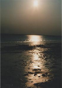 Sonnenuntergang am Meer von Heike Nedo