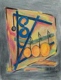 Tanz der farbigen Noten von Heike Nedo