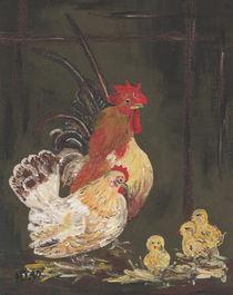 Hähnchen und Hühnchen von Heike Nedo