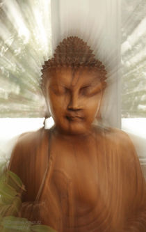 Enlightened Buddha by Christine Amstutz
