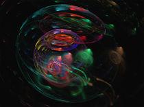 Ein sphärisches Universum Digital Kunst by Tetyana Vasylyeva