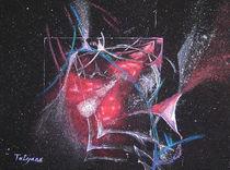 Drachenflug (Acryl auf Leinwand, 30x40) by Tetyana Vasylyeva