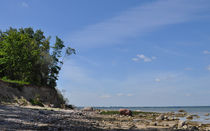 Blick auf die Steilküste by evelyn munnes