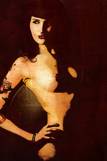 Pop Art Akt Poster by Falko Follert