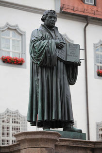 martin luther wittenberg by Falko Follert
