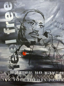 martin luther king by Sabine Freivogel
