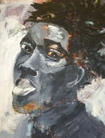 Portrait schwarz von Sabine Freivogel
