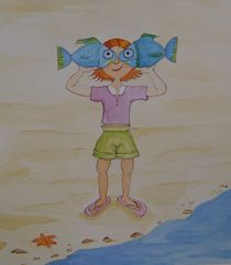Fischaugen von Angelika Wegner