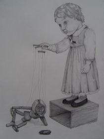 Puppen von Angelika Wegner