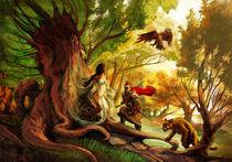 """Woman of Tree by Manuel """"lolo"""" Guzman"""
