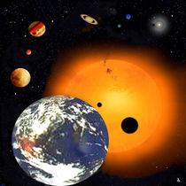 Unser Sonnensystem. by Bernd Vagt