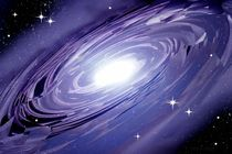 Spiralgalaxie abstrakt fraktal. by Bernd Vagt