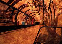 London Underground Station von digitalgemaelde