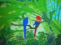 Dschungelpapageien by michaba