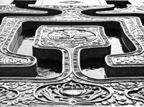 Symmetrie von frauhuhn