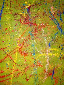 Abstrakter Farbenrausch 2 von artmagic