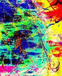 Abstrakter Farbenrausch 5 by artmagic