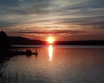 Mitternachtssonne am Raanujärvi - Finnland by oktopus4