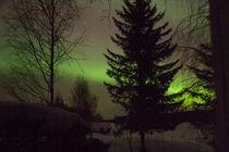 Nordlicht am Raanujärvi - Finnland by oktopus4