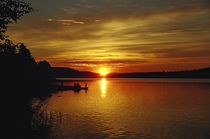 Mitternachtssonne am Raanujärvi - Finnland 2 by oktopus4