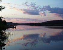 Die blaue Stunde am Raanujärvi - Finnland by oktopus4