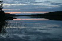 Die blaue Stunde am Raanujärvi - Finnland 2 by oktopus4