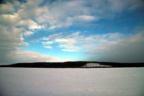 Am Raanujärvi - Finnland im Winter by oktopus4