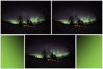 Das Nordlicht in Finnland am Raanujärvi 13 by oktopus4