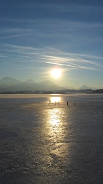 Sonnenuntergang auf Eis von sansara