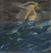 Gewitterluft auf See by Jochen Schmiedeck